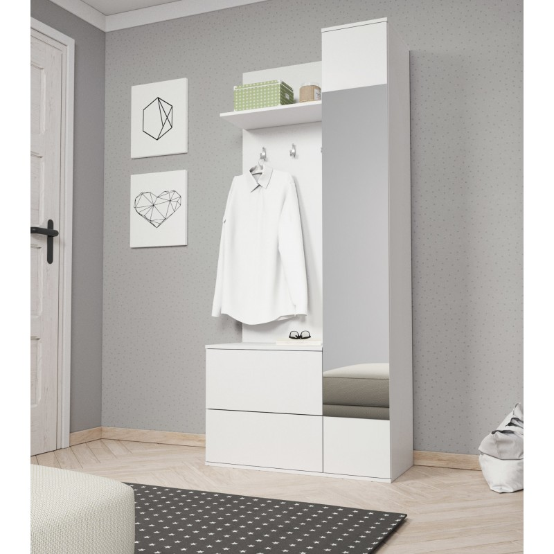 garderoba GREEN biała