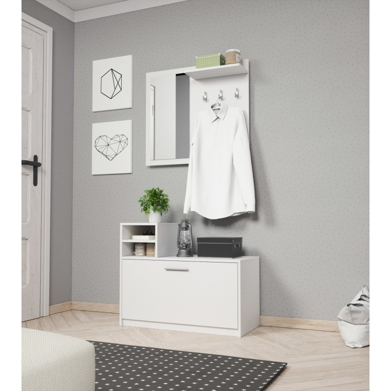 garderoba LUNA biała