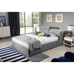 Łóżko tapicerowane Lukas