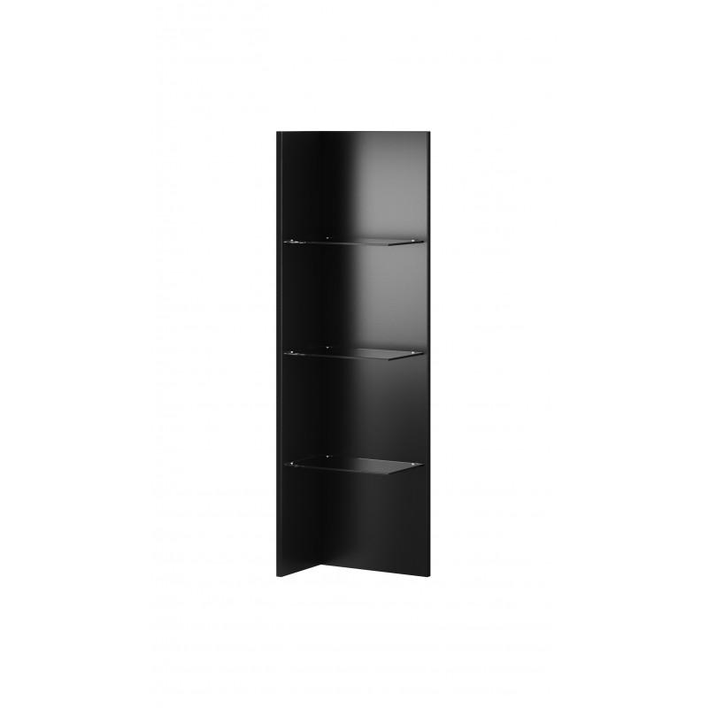 Panel wiszący z półkami szklanymi Helio