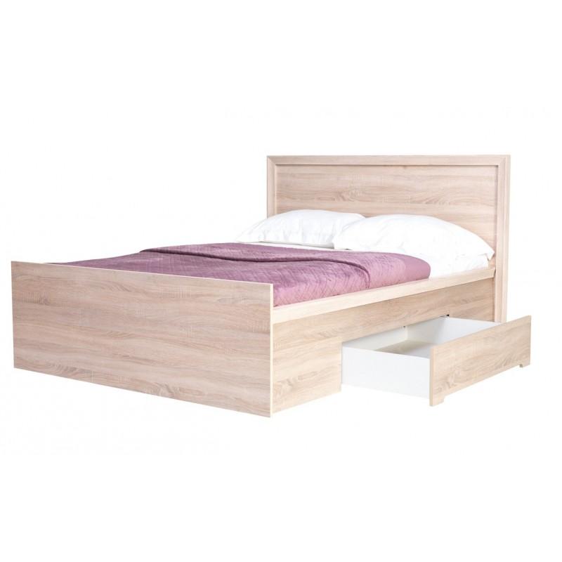 łóżko z szufladami 140 FINEZJA