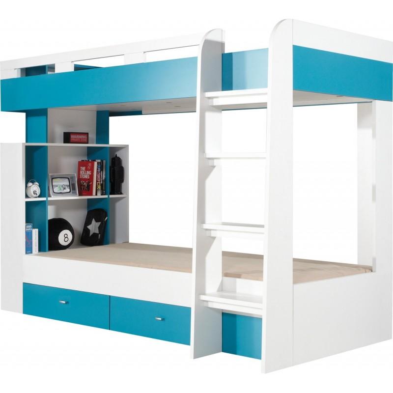 Łóżko z biurkiem Mobi MO 19