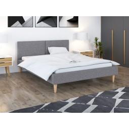 Łóżko tapicerowane DUO