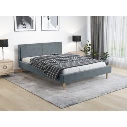 Łóżko tapicerowane DUO LUX