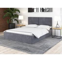 Łóżko tapicerowane DUO II BOX