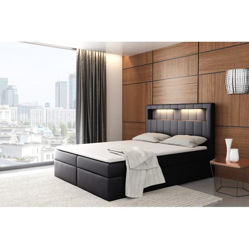 łóżko kontynentalne ASPEN