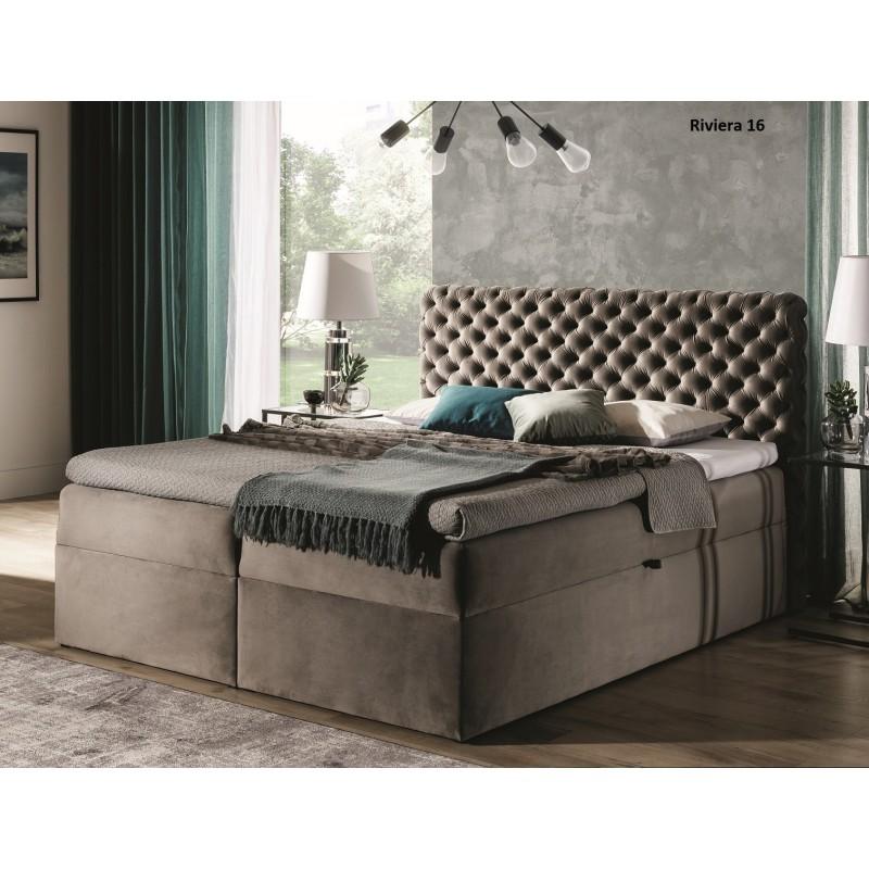 łóżko kontynentalne CASHMIRE
