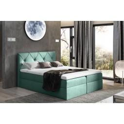 łóżko kontynentalne CRYSTAL