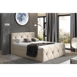 łóżko kontynentalne CRYSTAL LUX