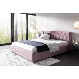 Łóżko tapicerowane MANGO