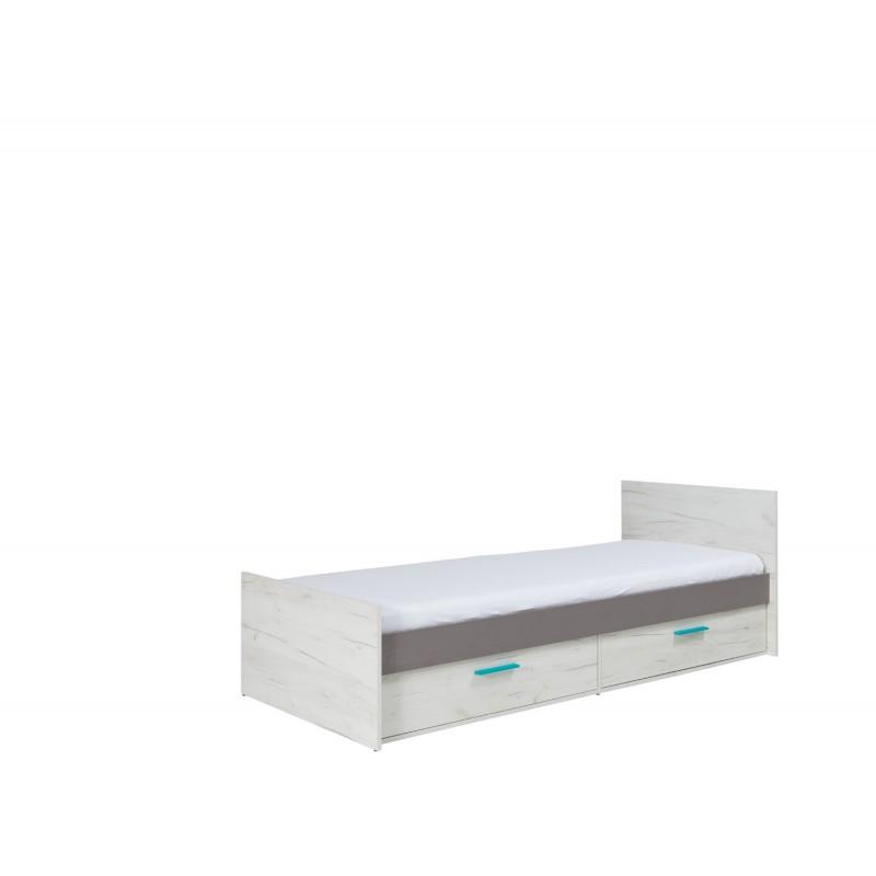 łóżko z szufladami REST