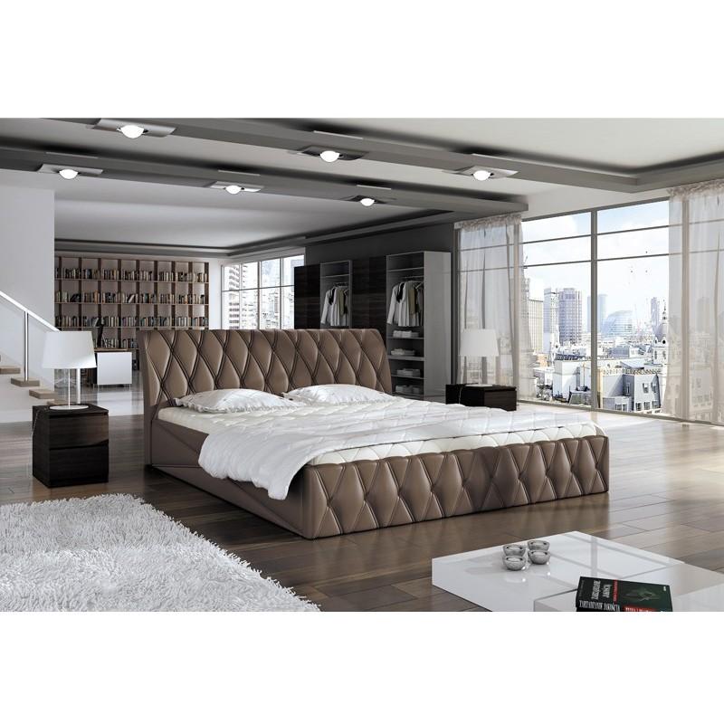 łóżko tapicerowane Nord