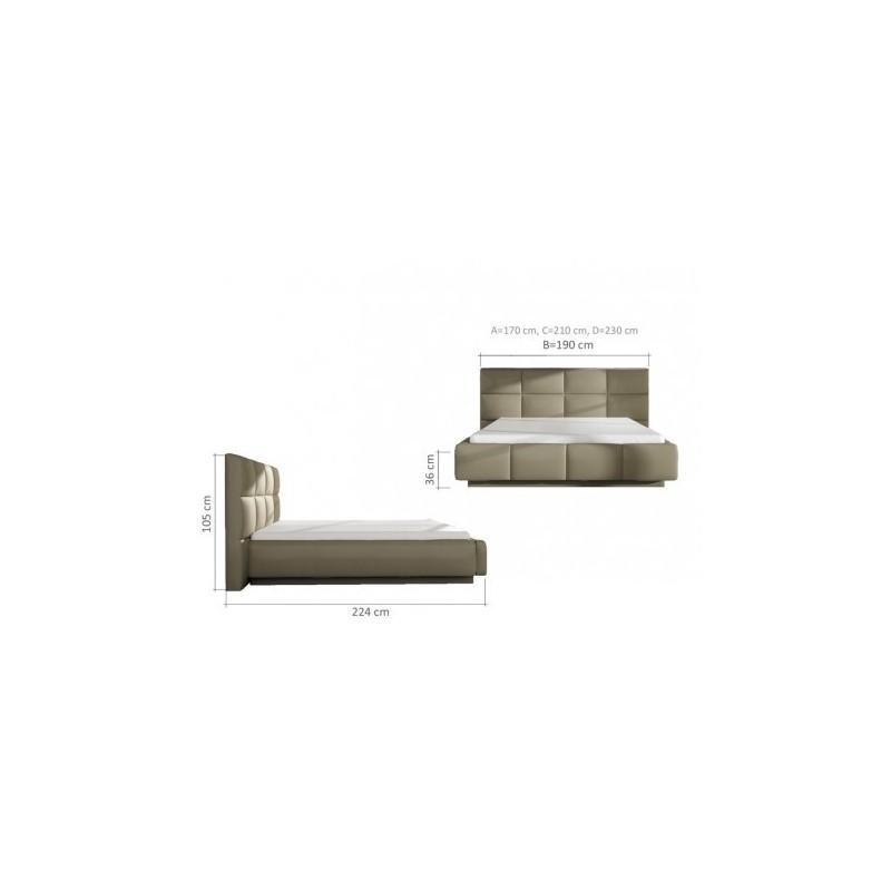 łóżko tapicerowane Asti 160 promo