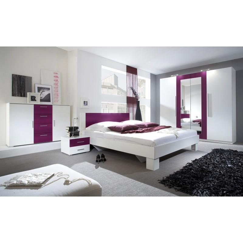 Sypialnia VERA dąb sonoma+biały