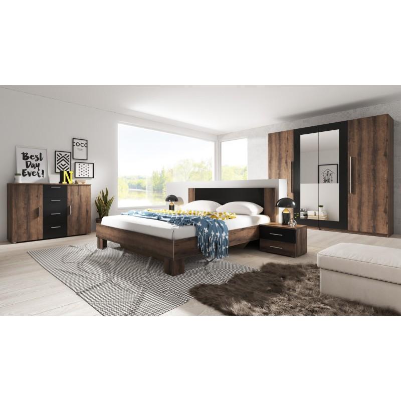 Sypialnia VERA biały + lila