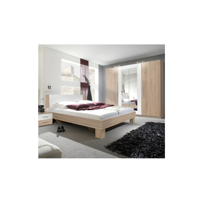 Sypialnia VERA II dąb sonoma+biały