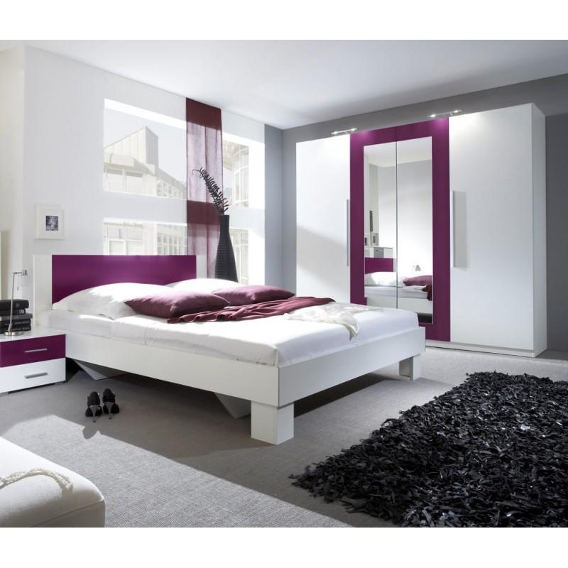Sypialnia VERA II dąb sonoma + biały