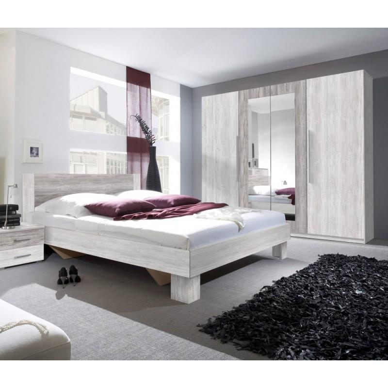 Sypialnia VERA II czerwony orzech + czarny
