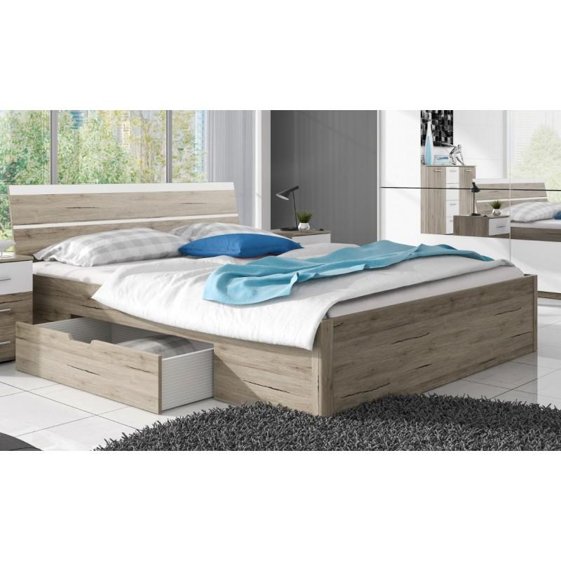 Łóżko BETA san remo + biały