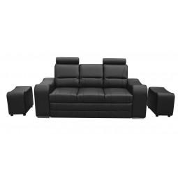 Sofa MARS +2 pufy