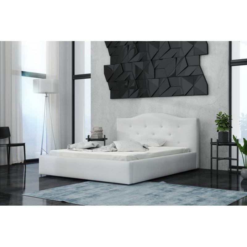 łóżko tapicerowane Malmo