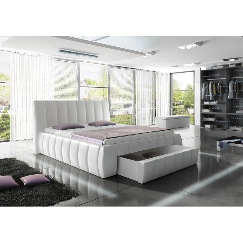 łóżko tapicerowane Roma promo