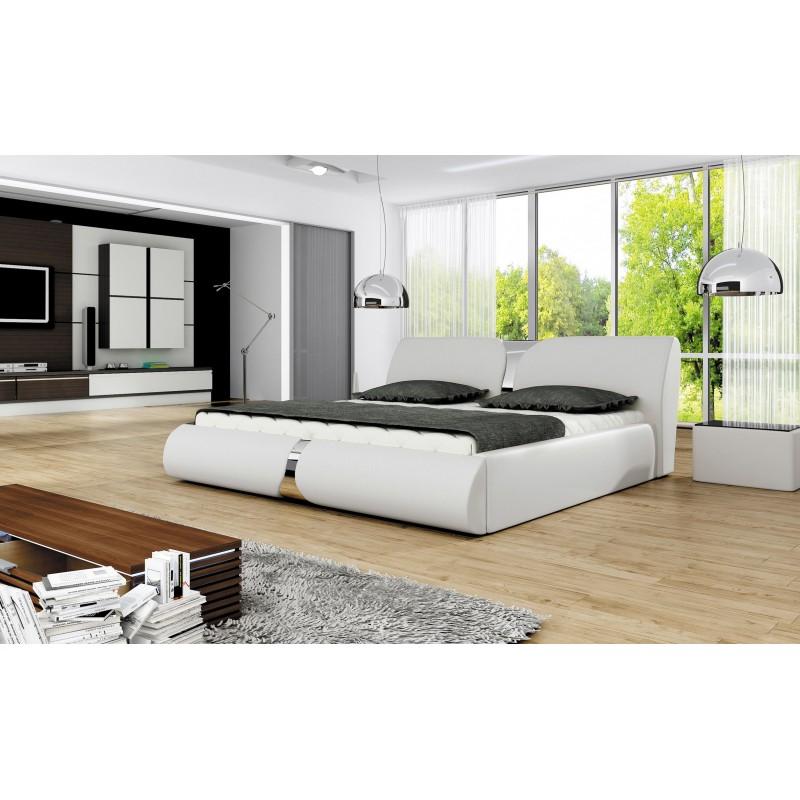 łóżko tapicerowane Round