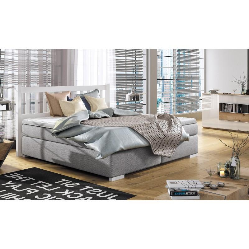 łóżko kontynentalne LANDO