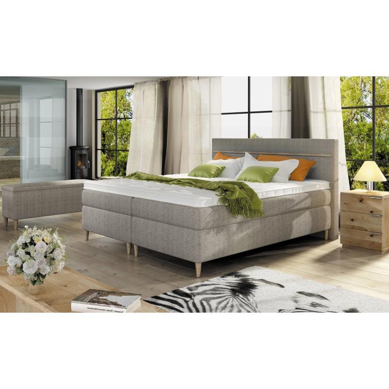 łóżko kontynentalne SCANDIA