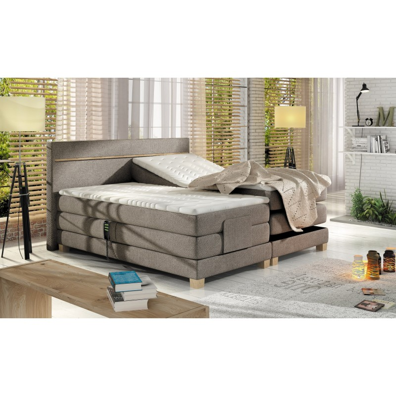 łóżko kontynentalne NORDIC