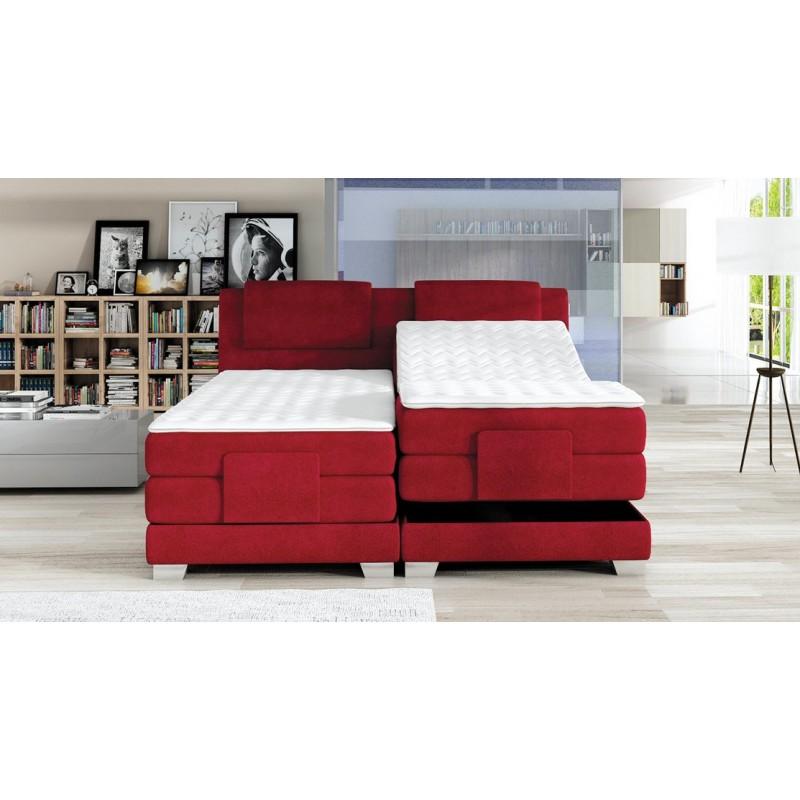 łóżko kontynentalne WAVE