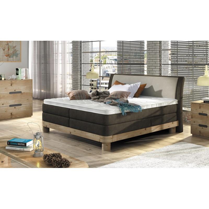 łóżko kontynentalne NATURAL