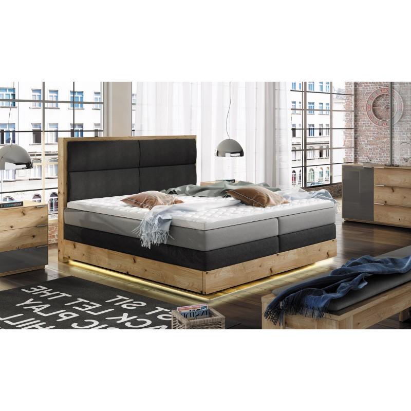 łóżko kontynentalne TRENTO
