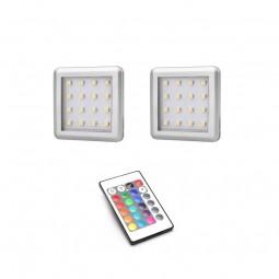 oświetlenie LED RGB 2 pkt