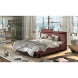 łóżko tapicerowane Gino