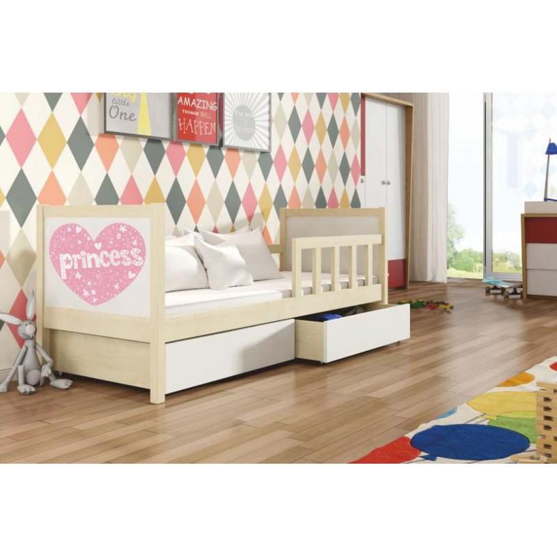 Łóżko dziecięce pojedyncze Pinokio 1