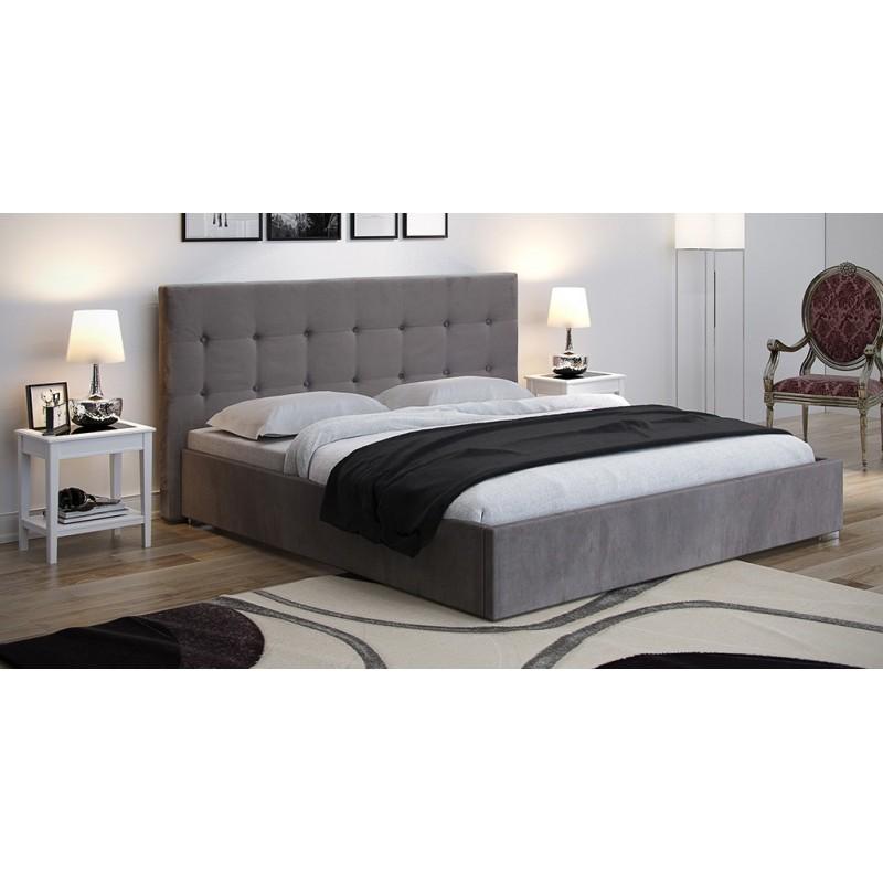 Łóżko tapicerowane Ala