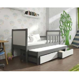 Łóżko dziecięce pojedyncze Pinokio 4