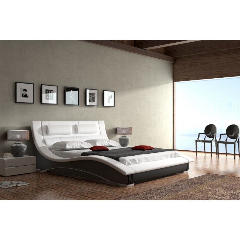 łóżko tapicerowane Lapas