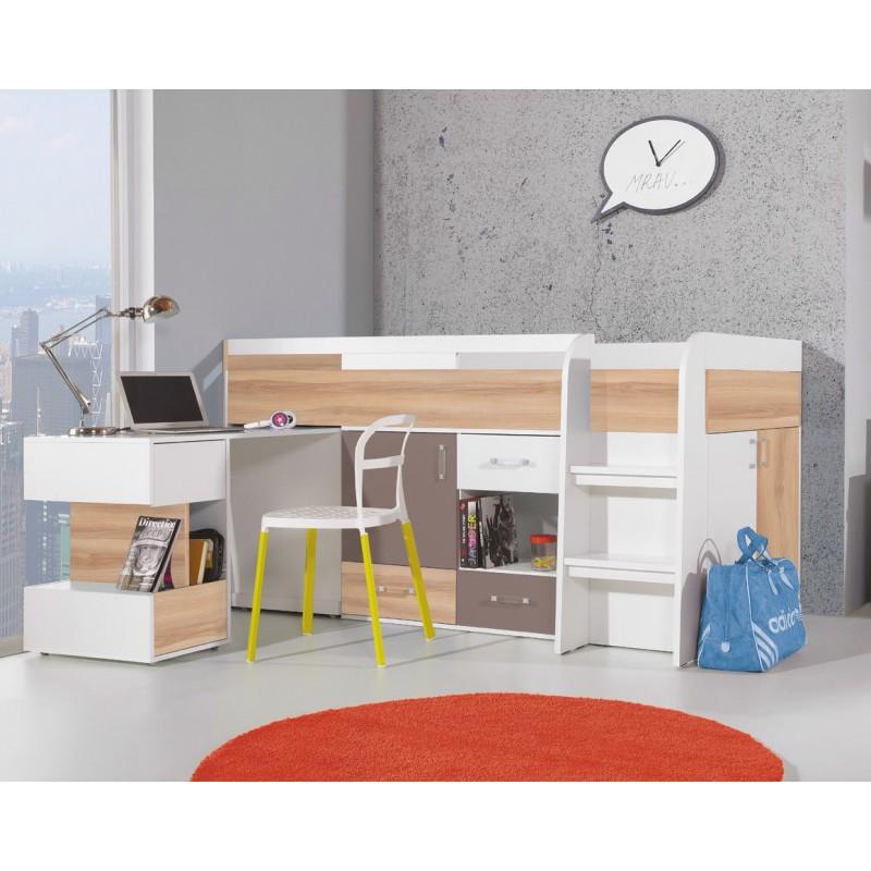 Łóżko z biurkiem Blog BL 21