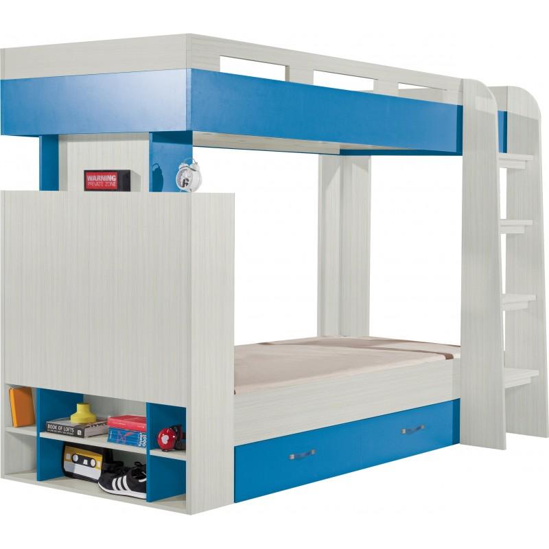 Łóżko piętrowe Komi KM 19