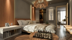 Klimatyczna sypialnia w stylu boho