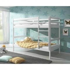 Łóżko piętrowe to doskonała propozycja do niewielkiego pokoju